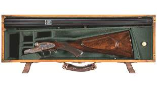Henry Atkin .450/.400 (Nitro Express) Double Rifle with
