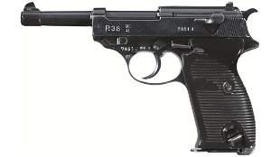 Documented East German Rework P.38 Pistol