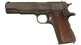U.S. Ithaca Model 1911A1 Semi-Automatic Pistol