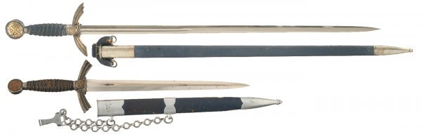 509: Luftwaffe 1934 Pattern Officers Sword and Firs...