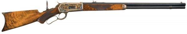 1003: Spectacular, Winchester Model 1886 Fancy Sport...
