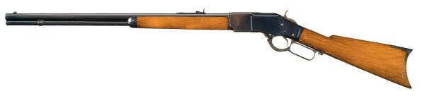 1005: Outstanding Winchester Model 1873 Lever Action...