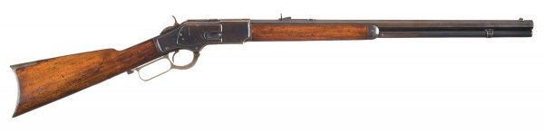 1006: Excellent Winchester Model 1873 Lever Action R...