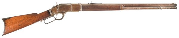 1012: Winchester Model 1873 .22 Lever Action Rifle