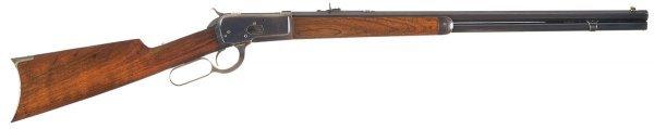 1013: Fine Antique Winchester Model 1892 Lever Actio...