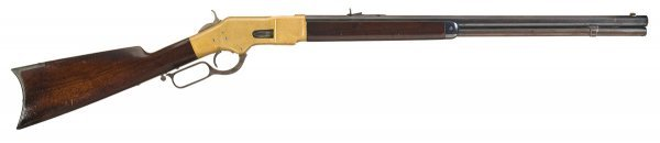 1018: Outstanding Winchester Model 1866 Lever Action...