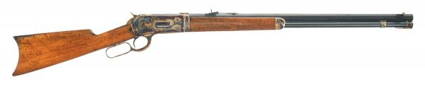 1022: Winchester Model 1886 Takedown Lever Action Ri...