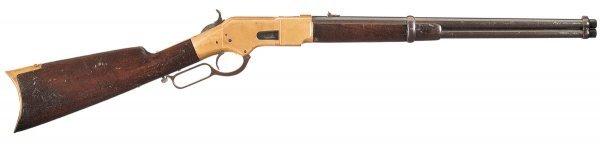 1023: Winchester Model 1866 Saddle Ring Carbine