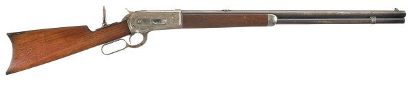 1024: Winchester Model 1886 Lever Action Rifle in 45...