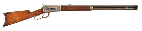 1032: Excellent Winchester Model 1886 Lever Action R...