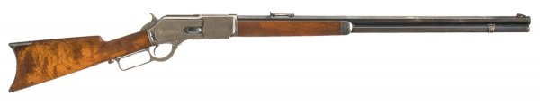 1035: Fine Winchester Third Model 1876 Lever Action ...