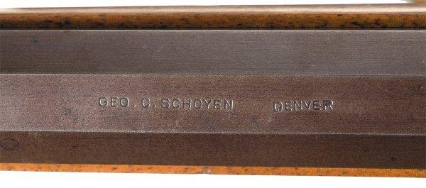 1038: Custom Schoyen Winchester Model 1885 High Wall... - 3