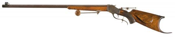 1038: Custom Schoyen Winchester Model 1885 High Wall... - 5