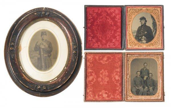 1392: Three Civil War Era Tintypes