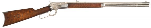3006: Rare Documented Winchester Model 1892 Sporting...