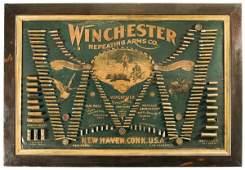 3020: Scarce Winchester Double W Cartridge Display B...