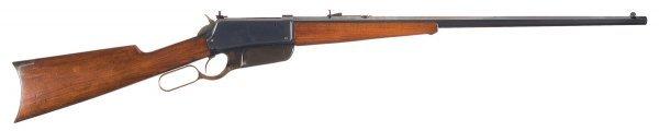 3028: Outstanding Winchester Model 1895, Flat-Side, ...