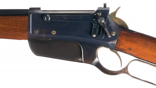 3028: Outstanding Winchester Model 1895, Flat-Side, ... - 2