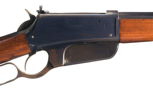3028: Outstanding Winchester Model 1895, Flat-Side, ... - 3