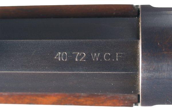 3028: Outstanding Winchester Model 1895, Flat-Side, ... - 4
