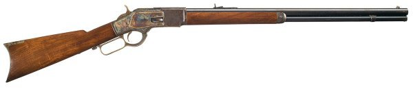 3030: Documented Winchester Model 1873 Lever Action ...
