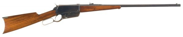 3031: Winchester Model 1895 Flat-Side Lever Action R...