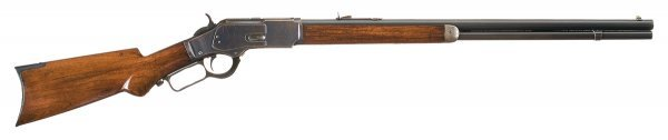 3040: Winchester Model 1873 Lever Action Rifle with ...