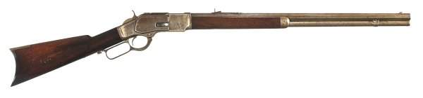 3050: Winchester Model 1873 Lever Action 44-40 Rifle