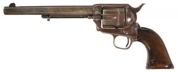 3342: Custer Era U.S. Colt Model 1873 Cavalry Revolver