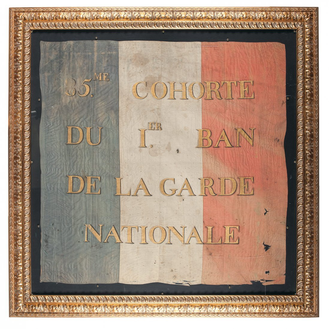 10: Highly Scarce Flag for the 85th Cohort of Napoleon'
