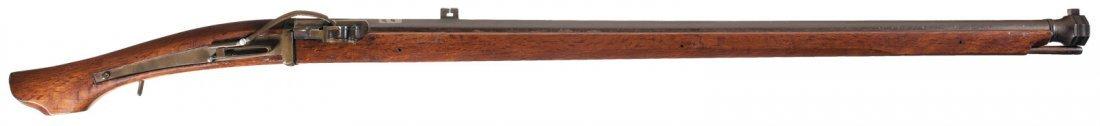 24: Japanese Matchlock Rifle with Silver Inlay
