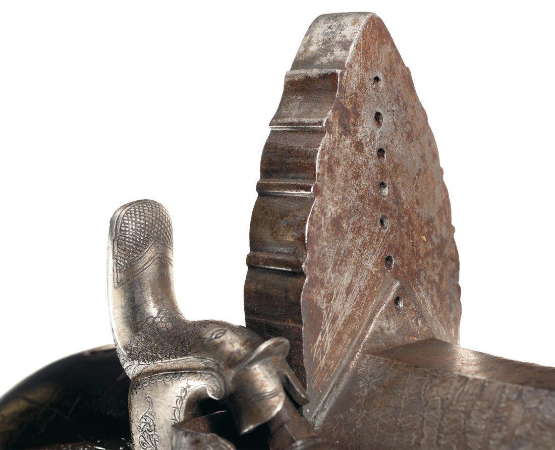30: Rare Massive Indian Percussion Camel Gun - 3