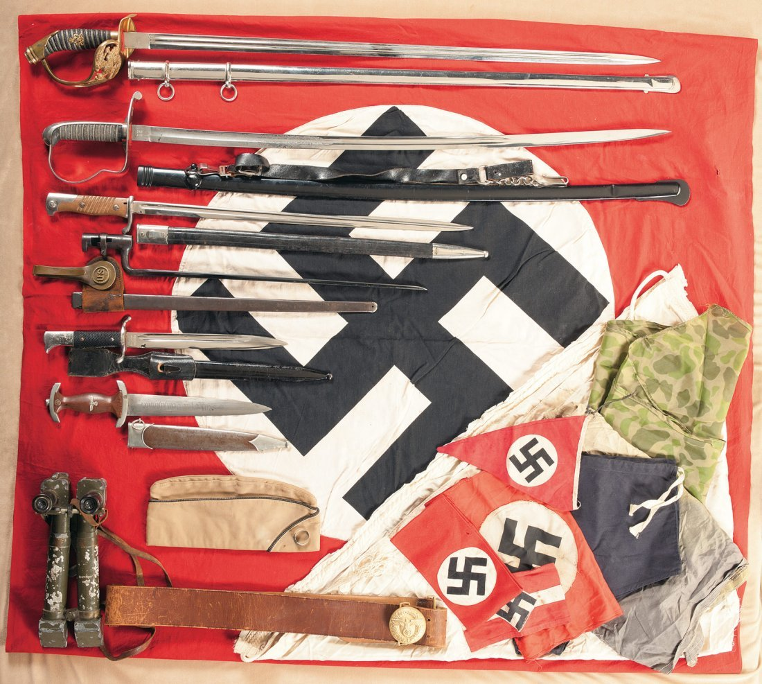 351: Collection of Miscellaneous Military Items