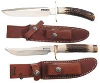 400 Two Randall Knives with Sheaths
