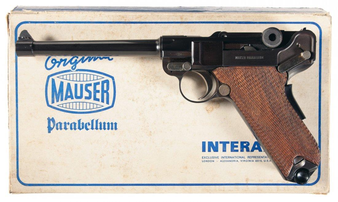 827: Mauser Interarms American Eagle Luger Semi-Automat