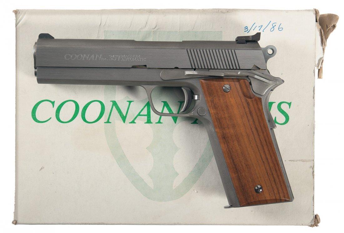 850: Coonan Arms Model A 357 Magnum Semi-Automatic Pist