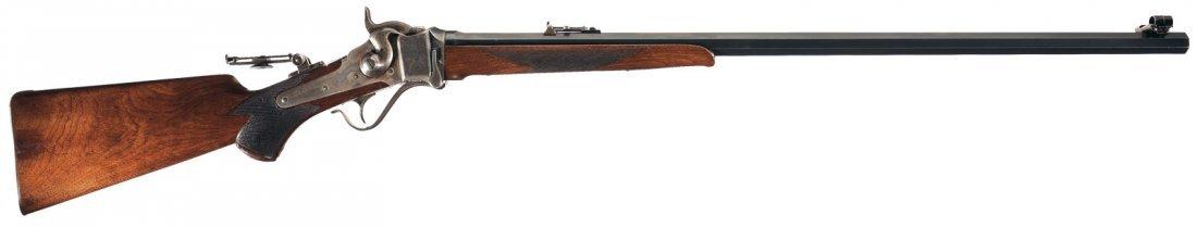 1001: Desirable Sharps Model 1874 Mid-Range No. 1 Rifle