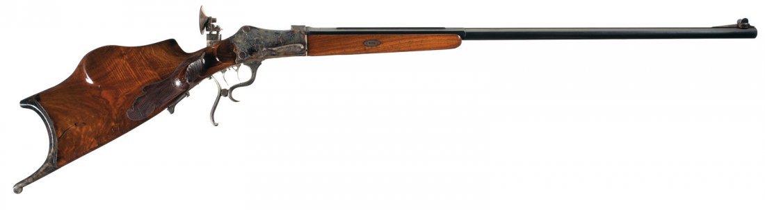 1006: Engraved German KFW Marked Martini Target Rifle