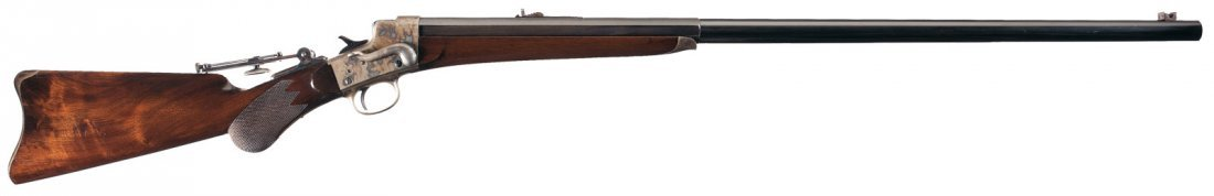 1010: Remington Hepburn No. 3 Target Model Single Shot
