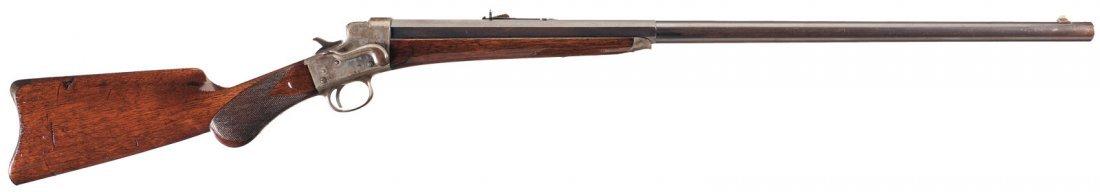 1012: Remington Hepburn No. 3 Sporting Model Single Sho