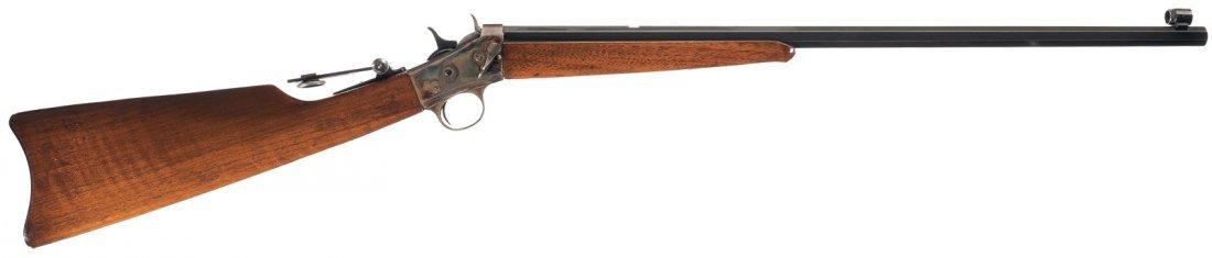 1013: Remington Rolling Block Takedown Sporting Rifle
