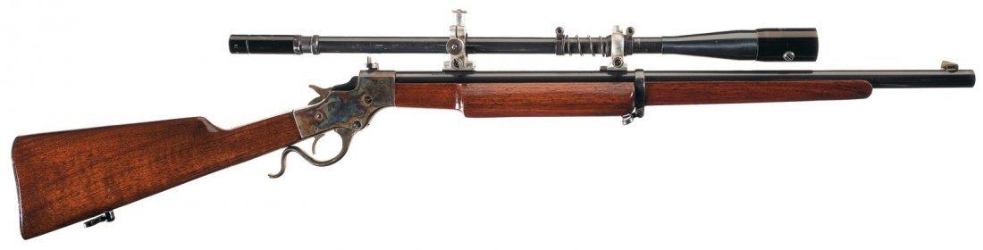 1018: Stevens Model 414 Armory Model Single Shot Rifle