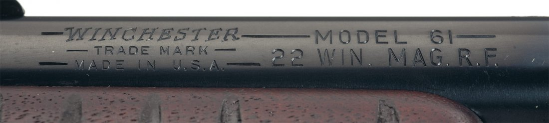 1144: Exceptional Winchester Model 61 22 Magnum Slide A - 3