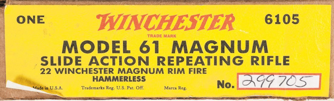1144: Exceptional Winchester Model 61 22 Magnum Slide A - 5