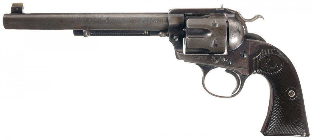 1265: Scarce Factory Documented Colt Bisley Flattop Tar