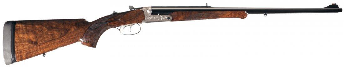 1374: Krieghoff Classic Box Lock Double Rifle in 375 Fl