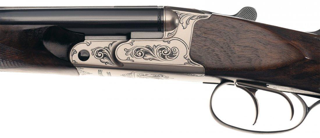 1374: Krieghoff Classic Box Lock Double Rifle in 375 Fl - 2