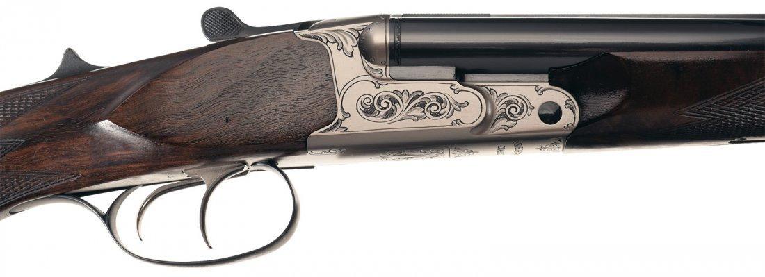 1374: Krieghoff Classic Box Lock Double Rifle in 375 Fl - 3