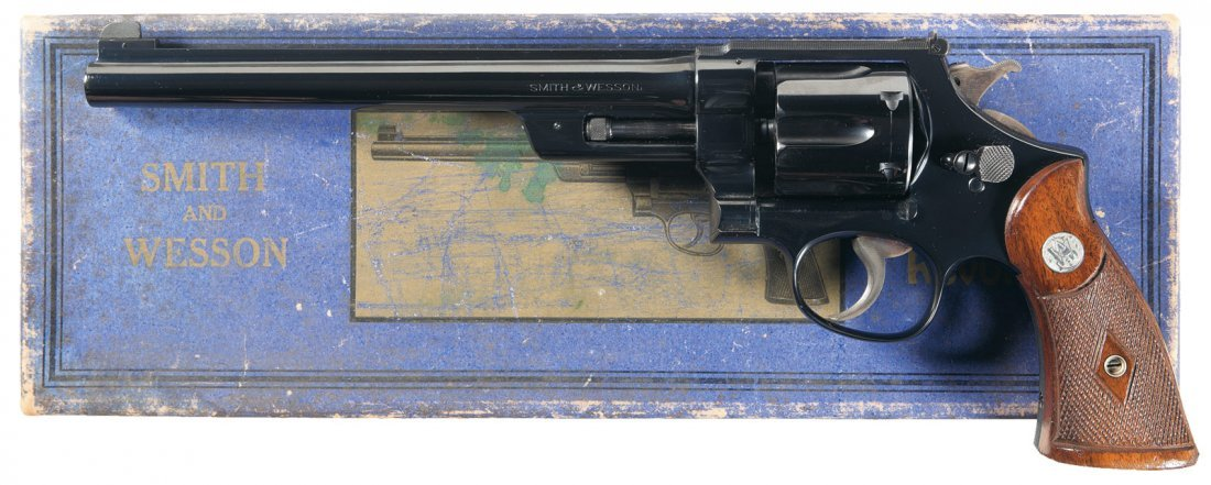 1455: Documented Smith & Wesson Registered .357 Magnum