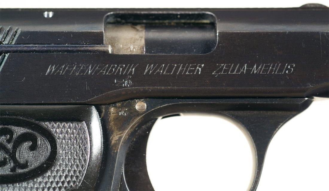 1658: Walther Model 5 Semi-Automatic Pistol - 2